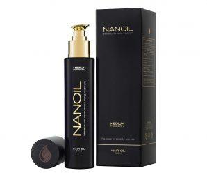 cel mai bun ulei de păr - Nanoil- front